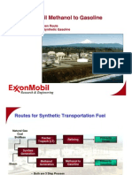 Methanol to Gasoline - ExxonMobil English
