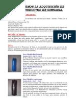 Saco de Box - Instrucciones Americano y Profesional