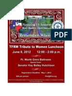 TFRW Tribute Luncheon Adv 4.23.12