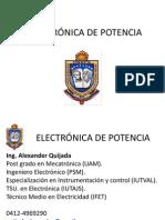 1 vision general ELECTRÓNICA DE POTENCIA