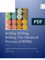 The Chemical Process of MDMA