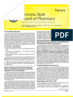 Arizona Board of Pharmacy November 2011