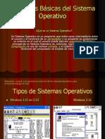 Funciones Básicas del Sistema Operativo para clases oficina