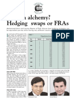 Hedging Swaps or FRAs