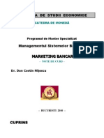 Marketing Bancar - Note de Curs