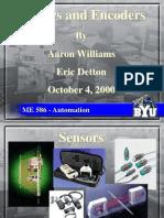 Encoders Sensors