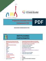 Proyecto VIH Fondo Global