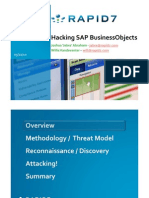 Hacking SAP Business Objects