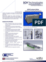 ACR Inline and Batch Conformal Coating Dip System