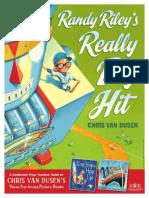 Randy Riley's Really Big Hit by Chris Van Dusen - Teachers' Guide