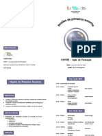 Prog. Ação Form. Primeiros Socorros 2012