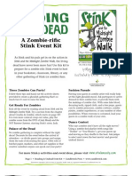 Reading is Undead - A Zombie-rific Stink Event Kit