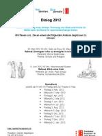 Flyer Dialog 2012