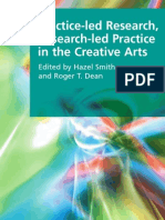 Smith, Hazel and Dean, Roger T. - Practice-Led Research, Research-Led Practice in the Creative Arts