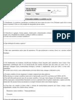 ATIVIDADES_CLASSIFICAÇÃO