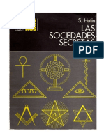 LAS SOCIEDADES SECRETAS- SERGE HUTIN