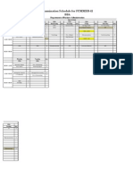 Final Exam Schedule Summer-11 DBA