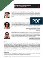 (2011) Garcia-Alsina, Ortoll, López-Borrull, Aplicaciones emergentes de inteligencia competitiva en las universidades