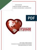 BITÁCORA MODULA COMERCIO INTERNACIONAL Y GLOBALIZACIÓN