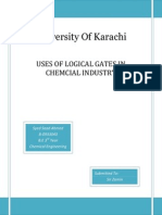 Application of gates in industry