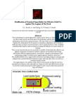 Modification of Standard 9mm Bullets for Effective Field Use Against The Legions of The Dead
