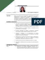 Resume Alexandra Murillo