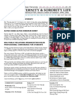 Missouri State Fraternity and Sorority Life Newsletter - Issue 6