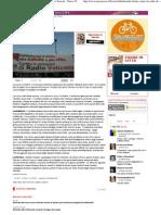 2011 - Ottobre 30 - Paese Sera - Quattromila Firme Contro Le Onde Di Radio Vaticana - Daniele Coltrinari