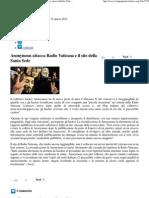 2012 - Marzo 12 - Cinque Giorni - Anonymous Attacca Radio Vaticana e Il Sito Della Santa Sede