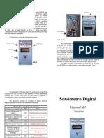Manual de Sonometro