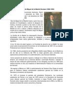 Pactos en El Sexenio de Miguel de La Madrid Hurtado
