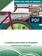 Manual para diseño de rutas ciclables