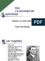 Lev  Semiónovich vygotsky