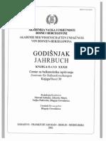 Godišnjak Centra za balkanološka ispitivanja Akademije nauka i umjetnosti BiH [knjiga 32, 2002.]