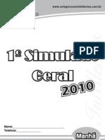 1¯Simulado Geral_27-03-10 (Manh∆)