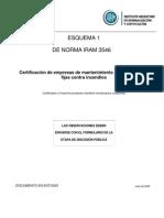 Norma IRAM 3546 - Esquema 1