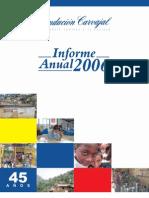 Reporte_Anual_2006 FUNCARVAJAL
