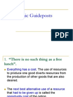 Guideposts to Economic Thinking