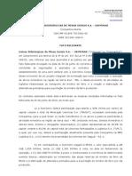Fato Relevante MUSA - 27.9.10