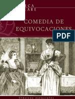 Shakespeare William - Comedia de Equivocaciones
