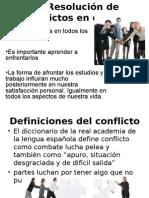 Presentación conflictos