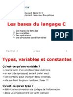 2)Les Bases Du Langage C