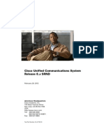 Cisco Unified Communications System 8.x SRND