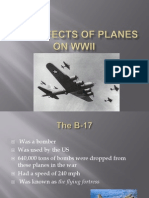The Effects of Planes on WWII