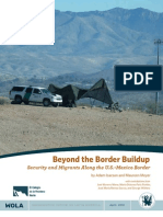 Beyond the Border Buildup Security and Migrants Along the U.S.-Mexico Border