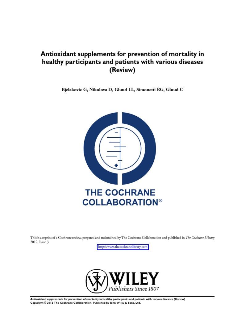 f896831cfca Antioxidant Supplements Dangers