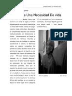 Entrevista a f Galindez