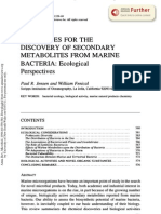Secondary Metabolites From Marine Bacteria