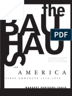 The Bauhaus and America - First Contacts, 1919-1936