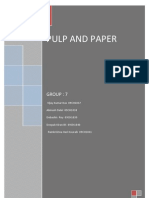 Group7_pulp and Paper Product